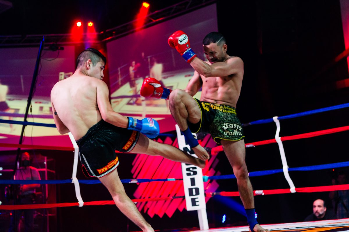 Muay Thai fights in DC and Virginia