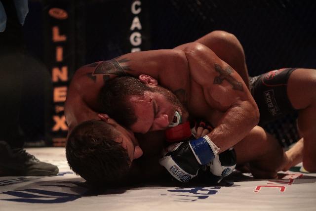 MMA grappling