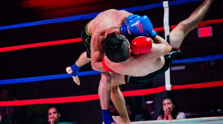 thai boxing from TCB fight