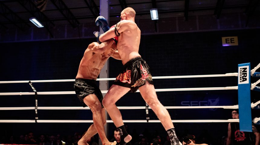 tcb/ muay thai clinch /ashburn thai boxing fight